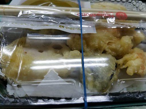 ほっともっと とり天丼のカロリーは野菜天が意外においしい感想。